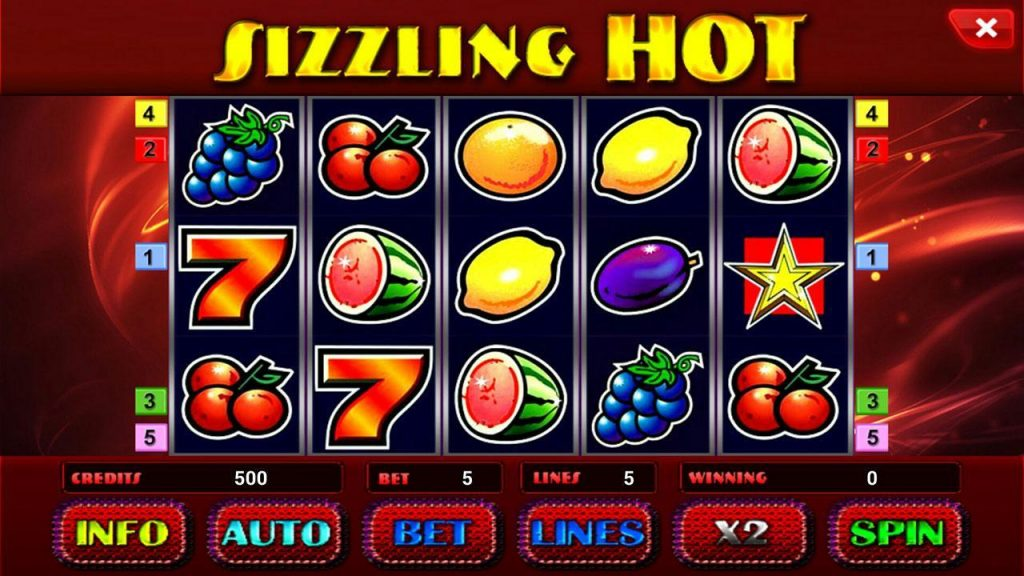 Află unde să joci slotul Sizzling Hot Deluxe online