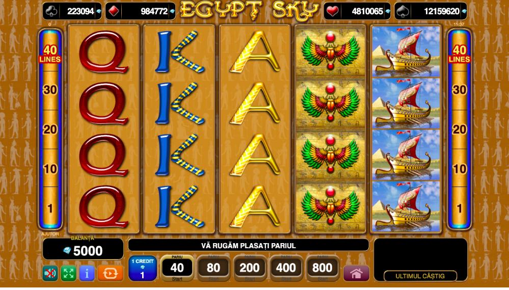 Egypt Sky cu Faraoni